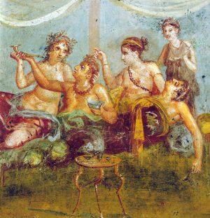 De l'orgie et des sangliers à l'époque romaine
