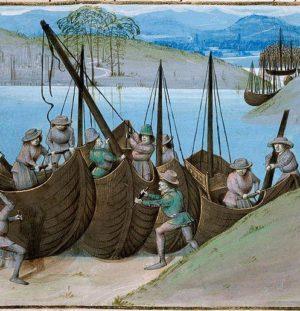 Comment voyageait-on au Moyen-Âge?
