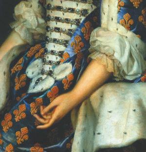 Le corps de la reine