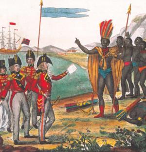Français et Amérindiens: une relation complexe.