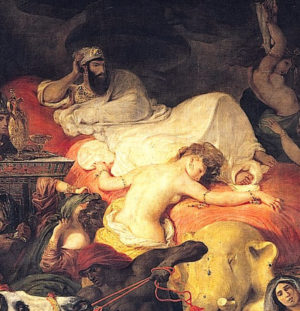 Vie et Mort de Sardanapale
