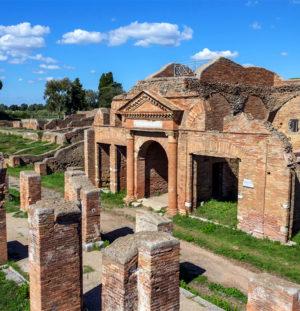 Archéologie d'une cité romaine : les fouilles à Ostie